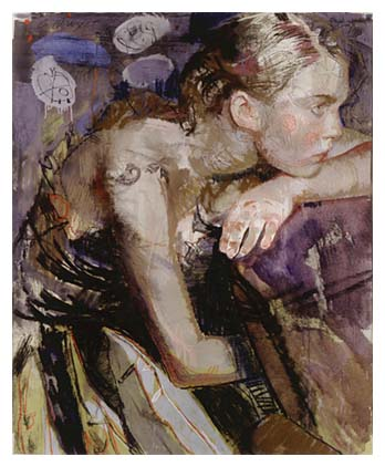 Evening Meditation by Charles Dwyer